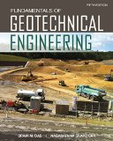 Fundamentals of Geotechnical Engineering  5th 2017 (Revised) 9781305635180 Front Cover