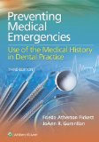 Preventing Medical Emergencies Use of the Medical History in Dental Practice 3rd 2015 edition cover