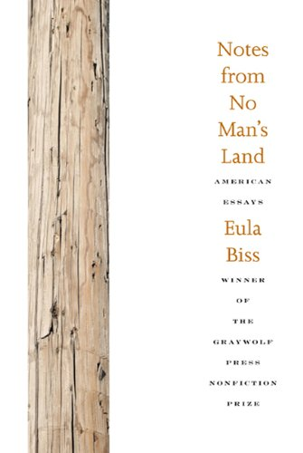 Notes from No Man's Land American Essays  2010 edition cover