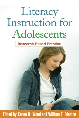Literacy Instruction for Adolescents Research-Based Practice  2009 edition cover