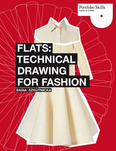 Flats - Technical Drawing for Fashion   2010 edition cover