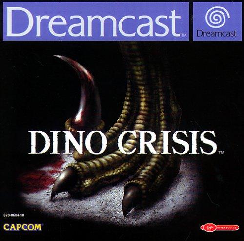 Dino Crisis Sega Dreamcast artwork