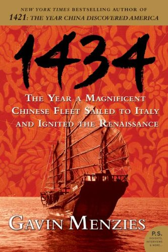 1434 The Year a Magnificent Chinese Fleet Sailed to Italy and Ignited the Renaissance N/A edition cover