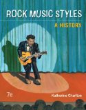 Rock Music Styles A History 7th 2015 9780078025181 Front Cover