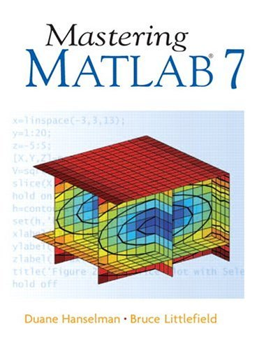Mastering MATLAB 7   2005 edition cover
