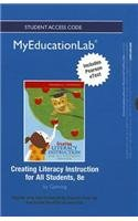 Creating Literacy Instruction for All Students  8th 2013 edition cover