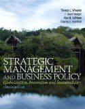 Strategic Management and Business Policy Globalization, Innovation and Sustainability 14th 2015 9780133254181 Front Cover
