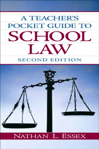 Teacher's Pocket Guide to School Law  2nd 2011 edition cover