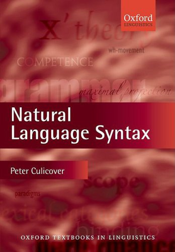 Natural Language Syntax   2009 edition cover