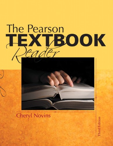Pearson Textbook Reader  3rd 2011 9780205751181 Front Cover