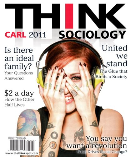 THINK Sociology  2nd 2011 9780205777181 Front Cover