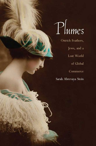 Plumes Ostrich Feathers, Jews, and a Lost World of Global Commerce  2010 9780300168181 Front Cover