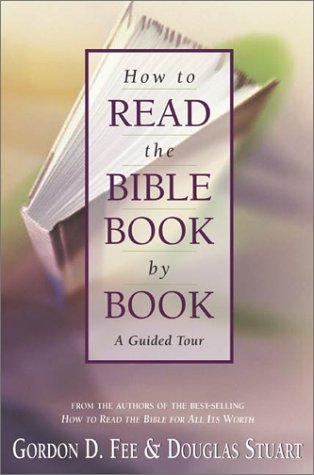 How to Read the Bible Book by Book A Guided Tour  2002 edition cover