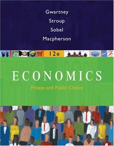 Economics Private and Public Choice 12th 2009 edition cover