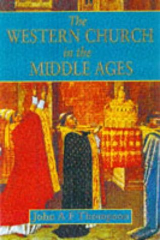 Western Church in the Middle Ages   1998 9780340601181 Front Cover