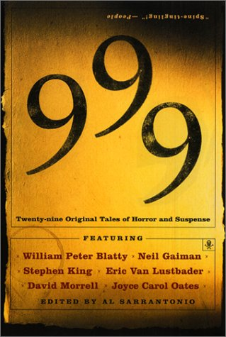 999 Twenty-Nine Original Tales of Horror and Suspense  1999 edition cover