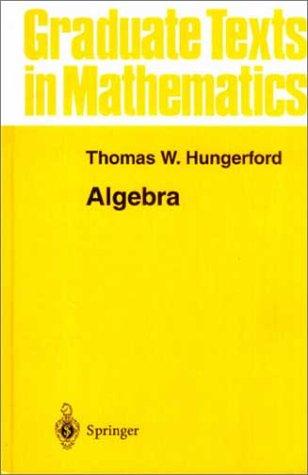 Algebra  8th 1974 edition cover