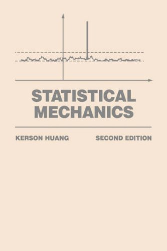 Statistical Mechanics  2nd 1987 (Revised) edition cover