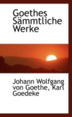 Goethes Ssmmtliche Werke   2008 edition cover