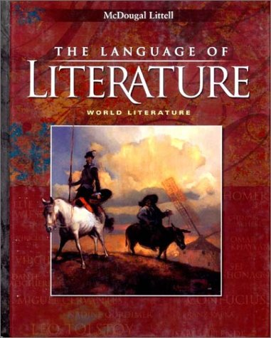 World Literature 2002  Student Manual, Study Guide, etc.  9780618087181 Front Cover