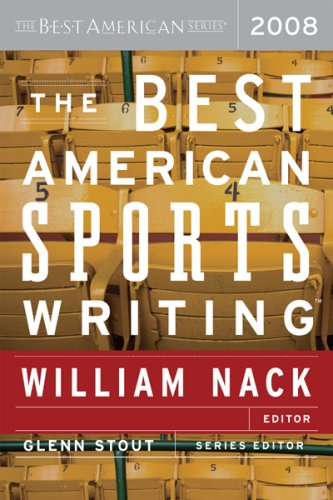 Best American Sports Writing 2008   2008 edition cover