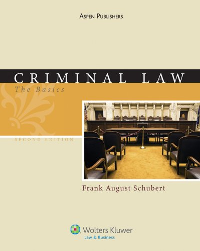 Criminal Law  2nd 2010 (Revised) edition cover