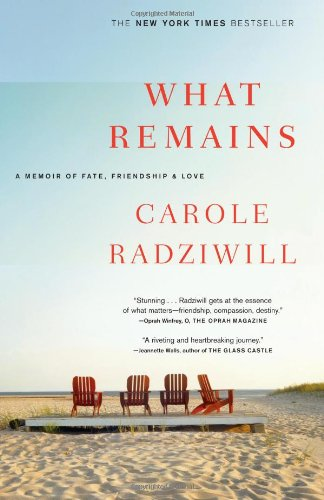 What Remains A Memoir of Fate, Friendship, and Love N/A edition cover