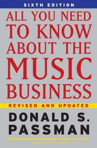 All You Need to Know about the Music Business  6th 2006 edition cover