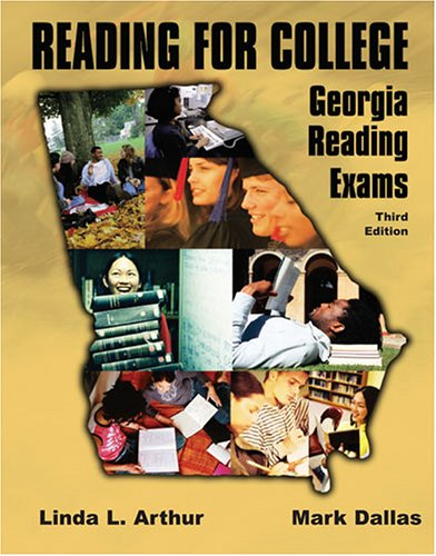 Reading for College : Georgia Reading Exams 3rd 2005 (Revised) 9780757520181 Front Cover