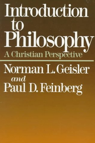 Introduction to Philosophy A Christian Perspective 2nd edition cover