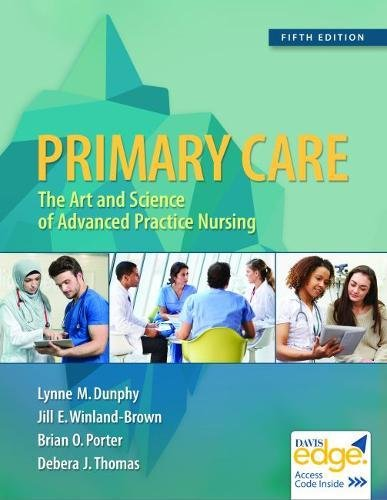 Primary Care Art and Science of Advanced Practice Nursing 5th 2019 (Revised) 9780803667181 Front Cover