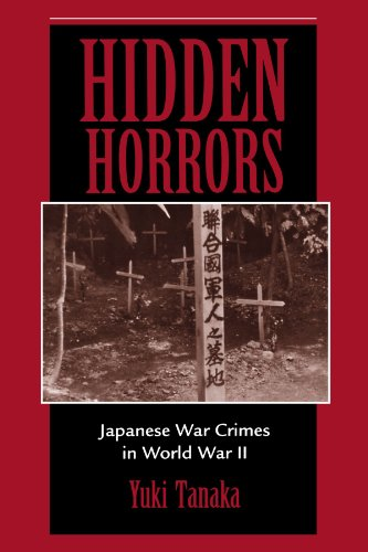 Hidden Horrors Japanese War Crimes in World War II  1998 (Revised) edition cover