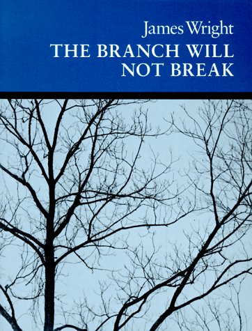 Branch Will Not Break Poems  1963 edition cover