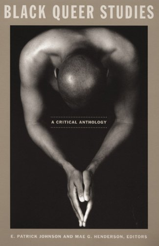Black Queer Studies A Critical Anthology  2005 edition cover