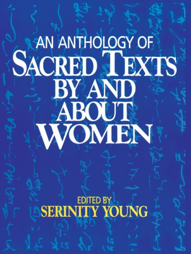 Anthology of Sacred Texts by and about Women  Reprint edition cover