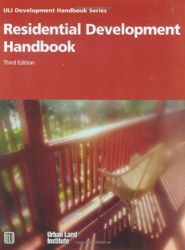 Residential Development Handbook  3rd 2004 edition cover