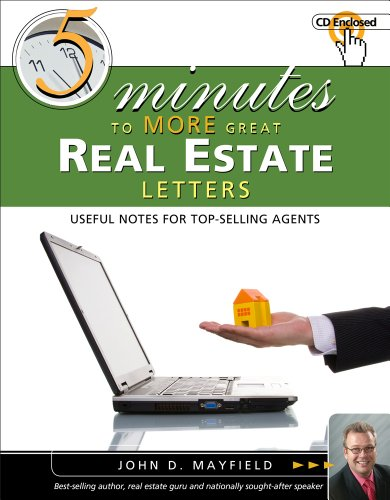 Five Minutes to More Great Real Estate Letters (with CD-ROM)  2nd 2012 edition cover