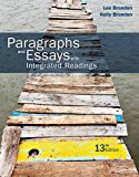 Paragraphs and Essays With Integrated Readings 13th 2017 (Revised) 9781305654181 Front Cover