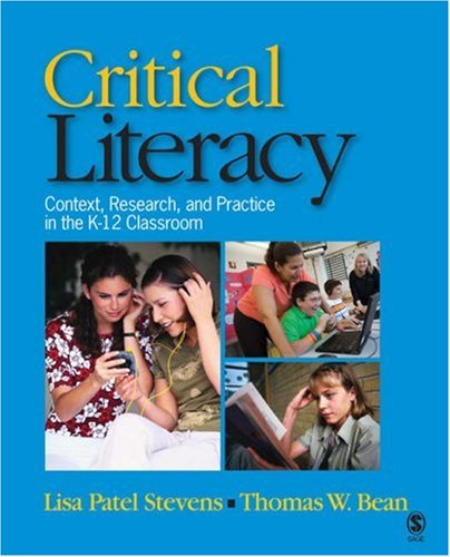 Critical Literacy Context, Research, and Practice in the K-12 Classroom  2007 edition cover