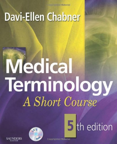 Medical Terminology A Short Course 5th 2009 edition cover