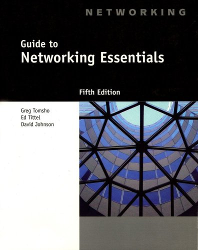 Guide to Networking Essentials  5th 2007 (Revised) 9781418837181 Front Cover