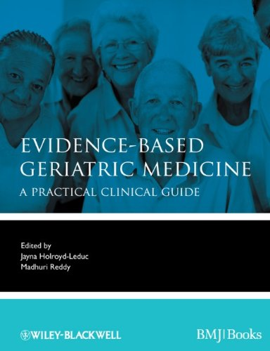 Evidence-Based Geriatric Medicine A Practical Clinical Guide  2012 edition cover