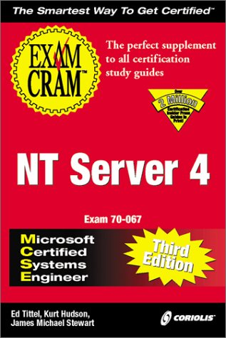 MCSE NT Server 4 Exam Cram 3rd 2000 9781576106181 Front Cover
