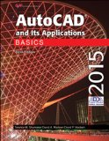 AutoCAD and Its Applications Basics 2015  22nd 2015 edition cover