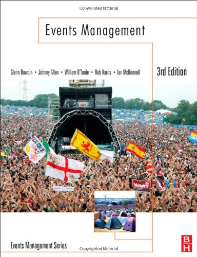 Events Management 3rd Edition  3rd 2011 (Revised) edition cover