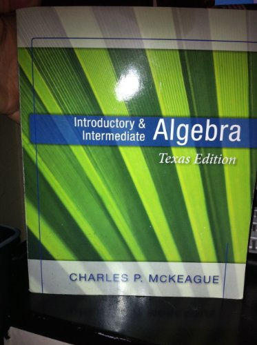 INTRODUCTORY+INTERMEDIATE ALGE N/A edition cover