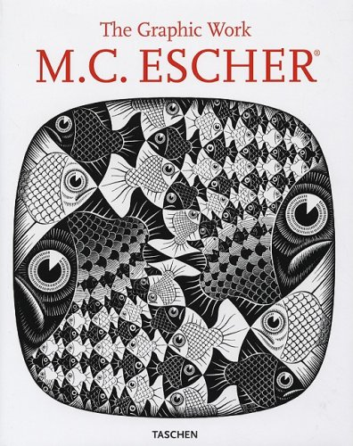 M. C. Escher The Graphic Work 25th edition cover