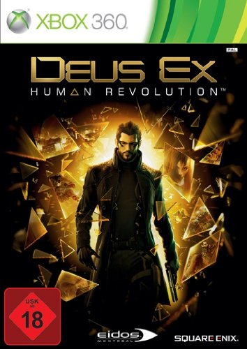 Deus Ex: Human Revolution Xbox 360 artwork