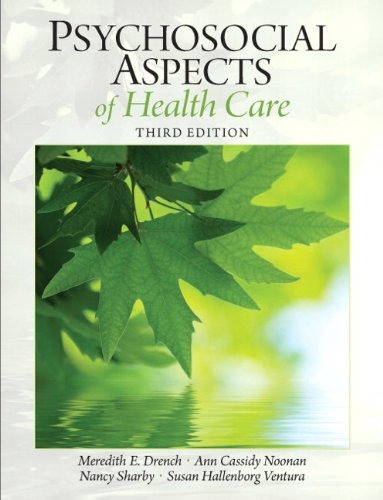 Psychosocial Aspects of Health Care  3rd 2012 edition cover