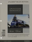 Operations Management, Student Value Edition Plus NEW MyOMLab with Pearson EText -- Access Card Package  11th 2014 edition cover